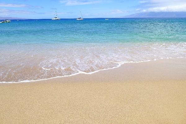 여유로운 휴양, 마우이의 해변