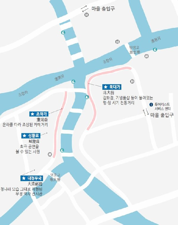 운하의 도시 - 주가각(朱家角)
