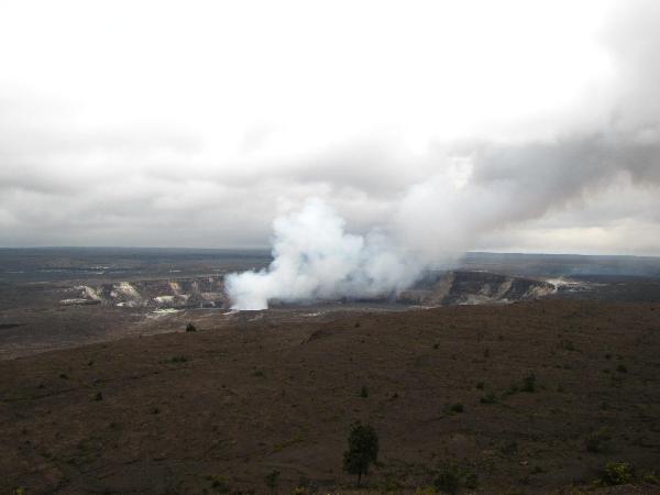 아직도 활발한, 하와이의 화산