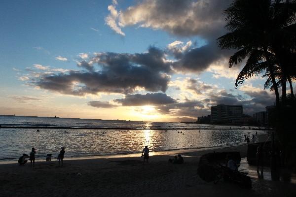 와이키키가 가장 유명, 오아후의 해변