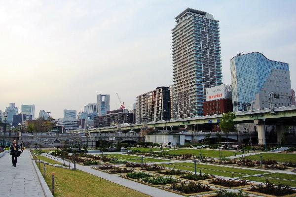 오사카 들어가기