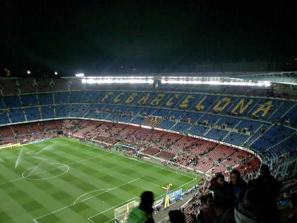 바르셀로나에서 축구 즐기기