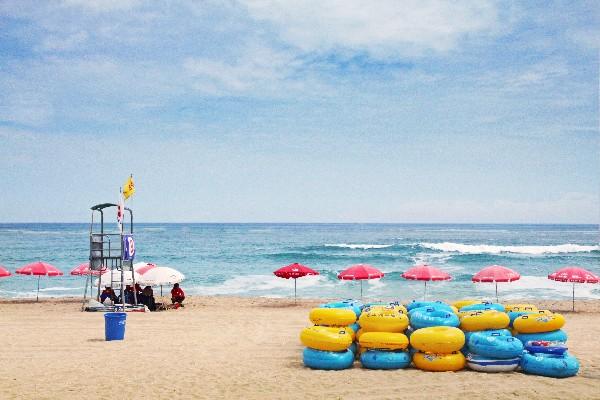 경포 해변
