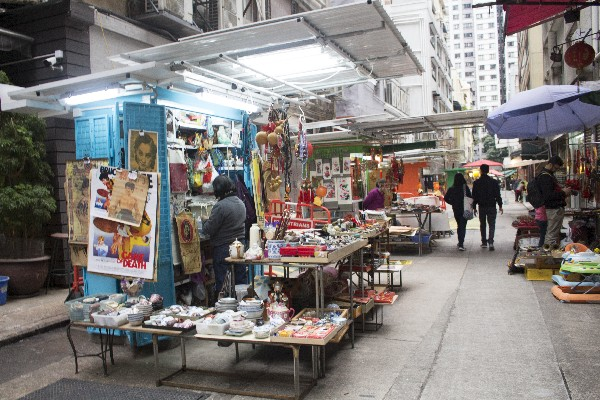 홍콩 쇼핑몰, 쇼핑거리