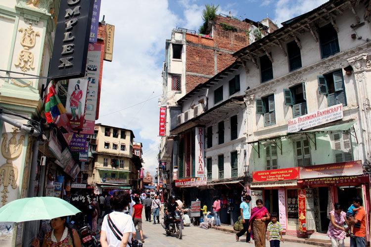 네팔 여행자 거리