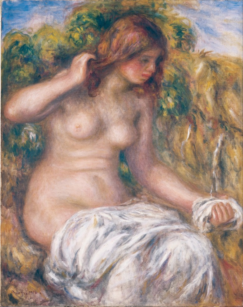 Pierre-Auguste_Renoir_-_Woman_by_Spring_-_Google_Art_Project