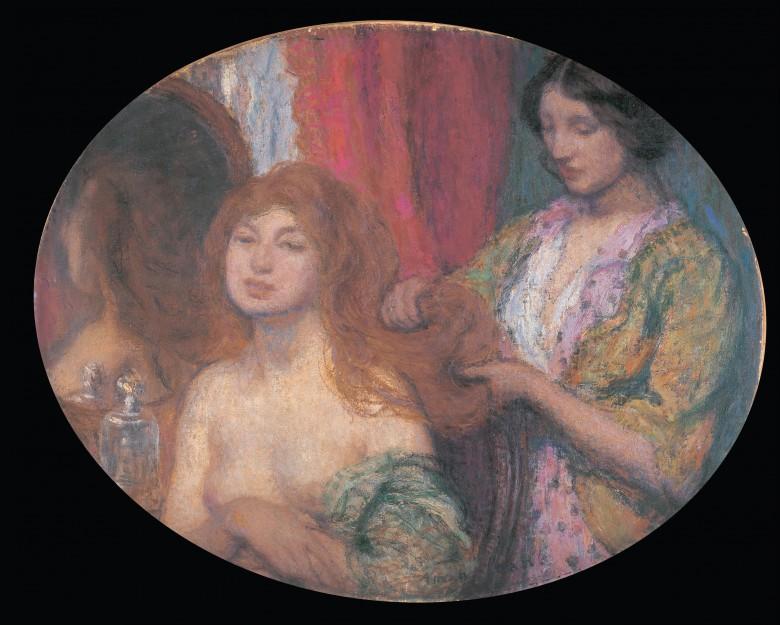 Edmond-François_Aman-Jean_-_Hair_-_Google_Art_Project
