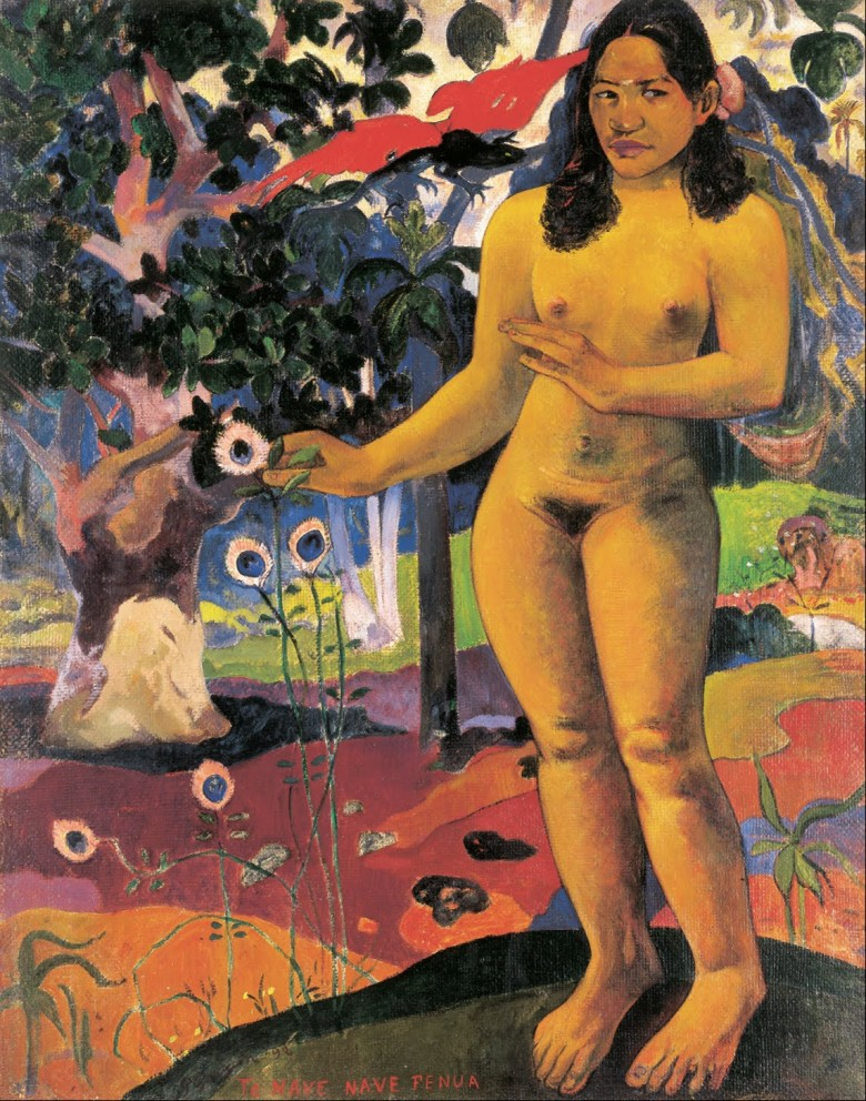 Paul_Gauguin_-_Delightful_Land_(Te_Nave_Nave_Fenua)_-_Google_Art_Project