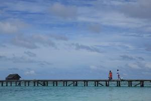 추운 겨울, 따뜻한 몰디브로의 여행