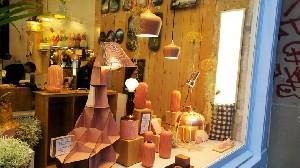 파리 마레 지구의 골목과 아기자기한 가게들_le Marais