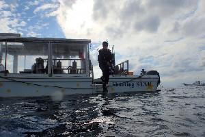 오키나와 케라마 제도, 아카섬 다이빙