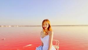 스페인 근교 이색 여행지 추천, 또레비에하 핑크 호수 (Pink Lake)