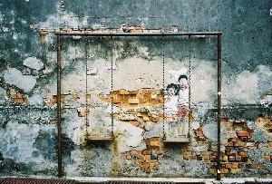 조지타운에서  낭만 벽화 찾기, 페낭 말레이시아