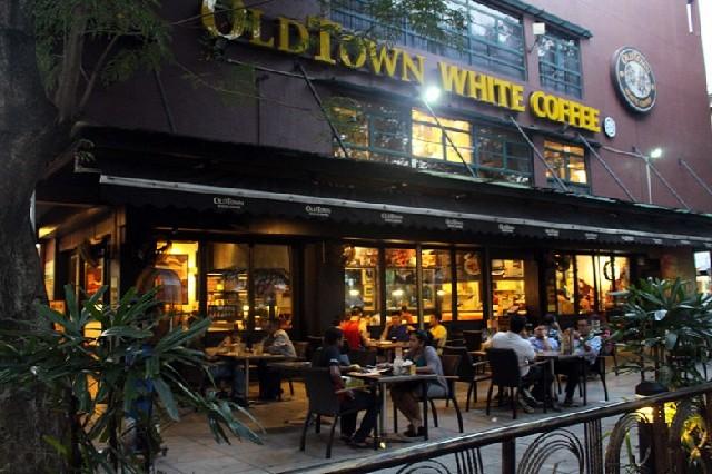 말레이시아, 올드타운 화이트 커피에 반하다