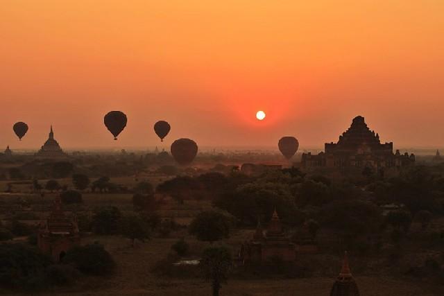 미얀마의 심장, 붉게 빛나는 바간을 만나라