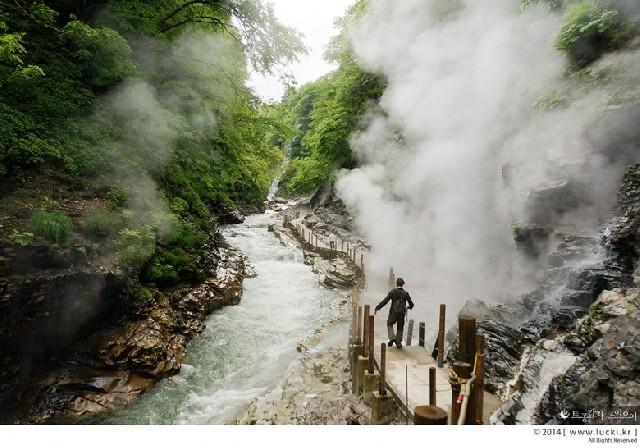 오야스쿄 협곡, 숲과 온천의 마법에 빠지다