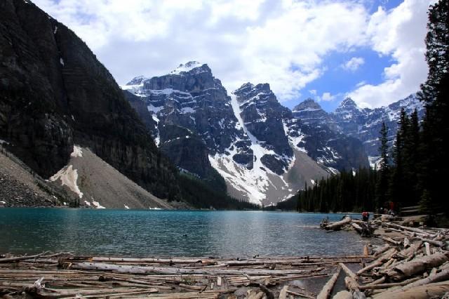꿈에도 잊지 못할 캐나다 밴프국립공원 모레인 호수