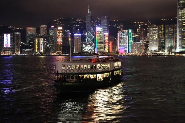 홍콩 야경 색다르게 즐기기
