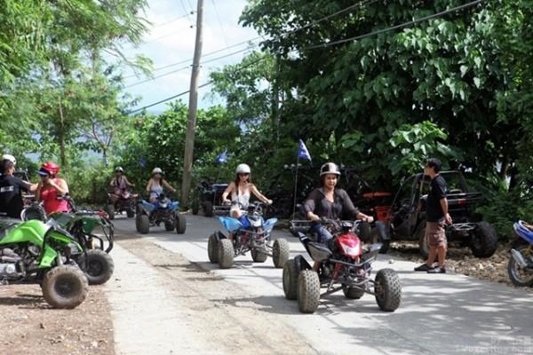 보라카이 ATV 체험, 루호산 전망대로 향하다!
