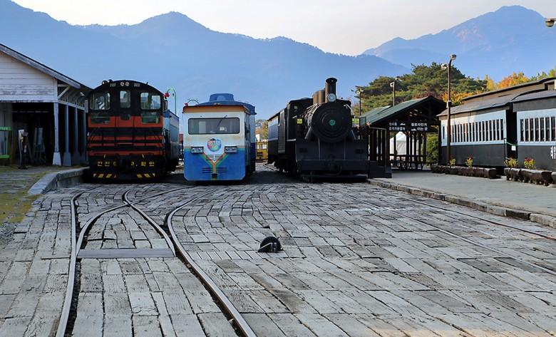 아이와 함께 하는 기차여행, 섬진강 기차마을