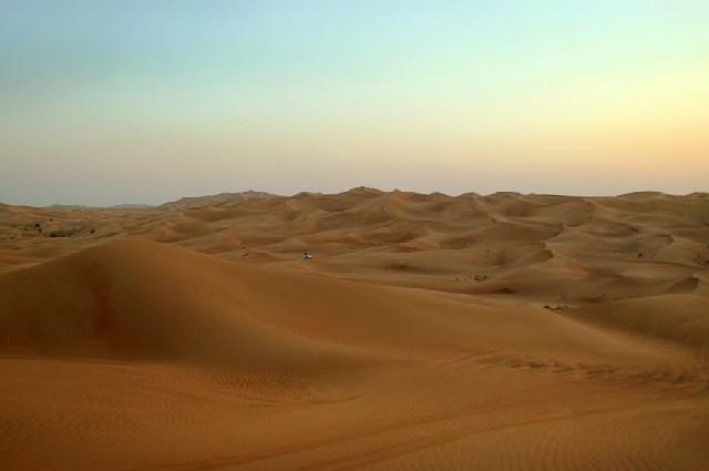 익사이팅한 체험, 두바이 사막 사파리