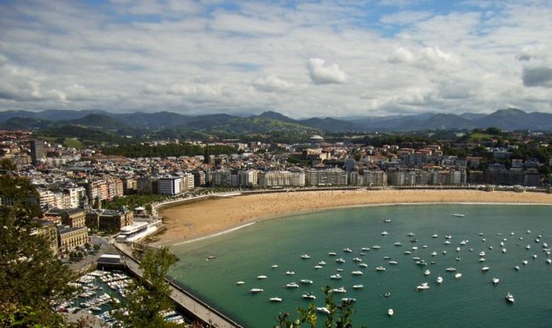 스페인의 해안도시, 산 세바스티안