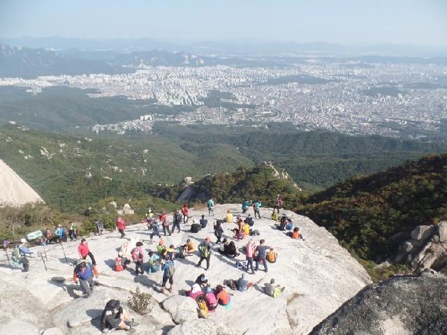 가을의 서울을 만끽하자, 북한산 백운대 등반하기