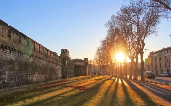오렌지빛 프로방스의 햇살, 따뜻한 중세도시 아비뇽