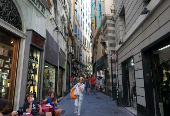 제노바, 찬란하던 대항해시대를 간직한 도시