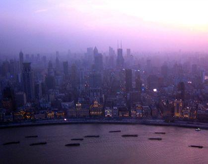 중국 상해를 품은 찬란한 동방명주!