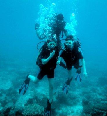 보라카이, 커플 스쿠버다이빙 체험기!