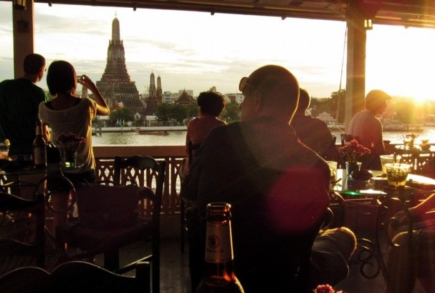 방콕, 행복한 일몰의 기억