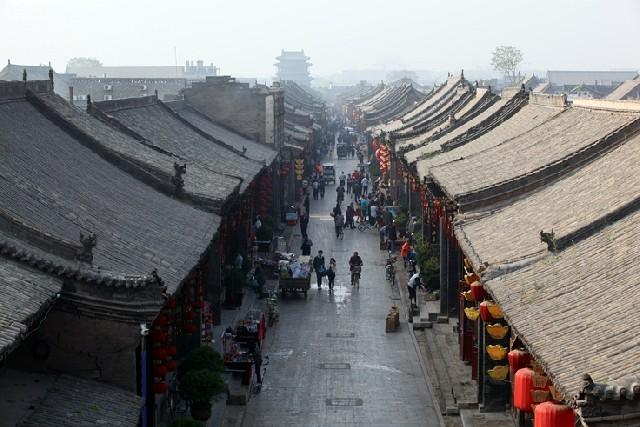 2500년의 역사, 중국 산서성 평요고성!