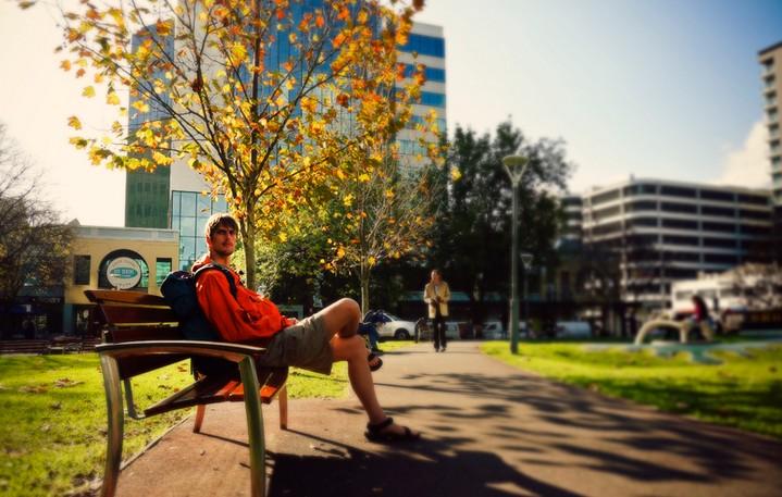 애들레이드, 한여름에 만난 가을의 향기