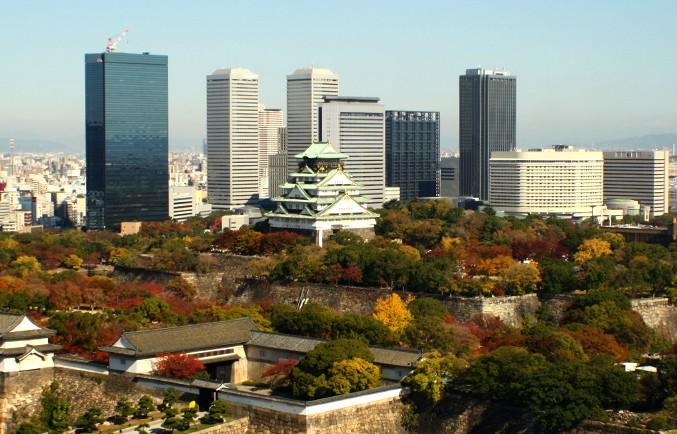 가을 빛 찬란한 오사카 여행, 오사카 성