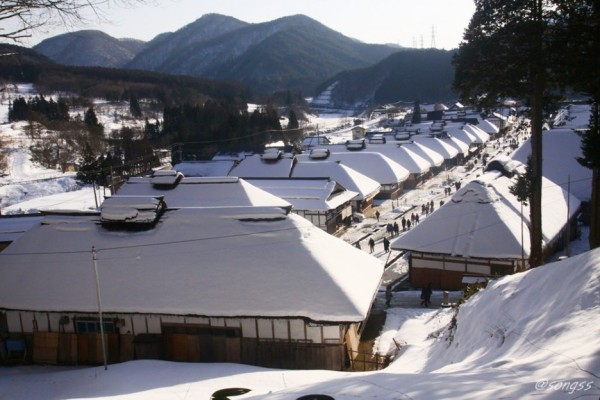 후쿠시마 눈의 마을, 오우치쥬쿠 산책