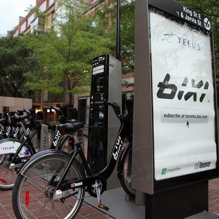 토론토 자전거 여행, BIXI