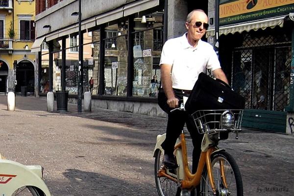 밀라노 자전거 여행, 바이크미로 달리기!