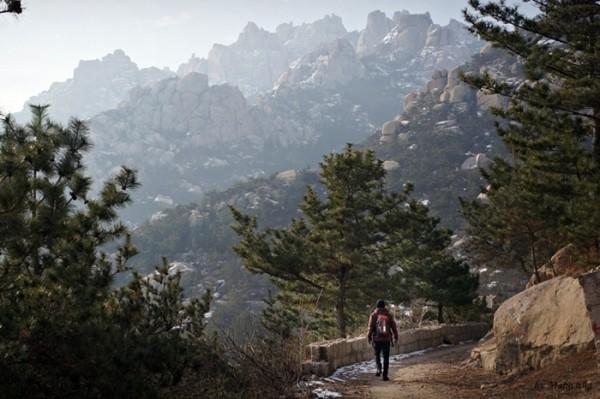 천하절경, 칭다오 라오산 崂山 등반