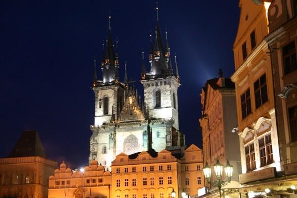 동유럽 여행의 진수, 프라하의 밤은 아름답다.