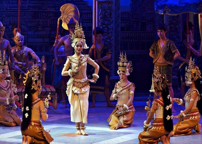 캄보디아 천상의 춤, 압사라 댄스를 만나다.