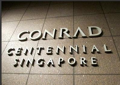 여심유혹! 싱가포르 콘래드호텔
