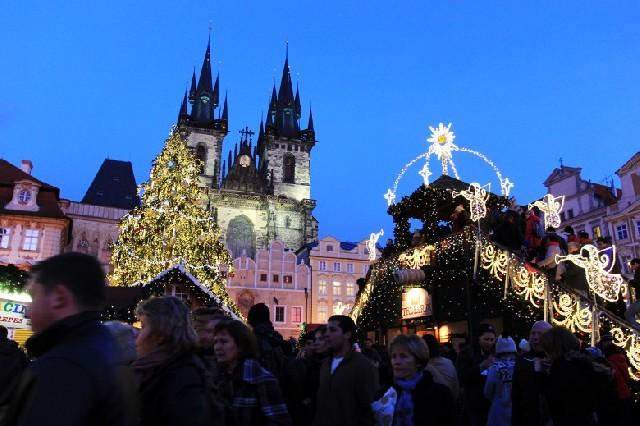 산타클로스가 없는 체코의 크리스마스!