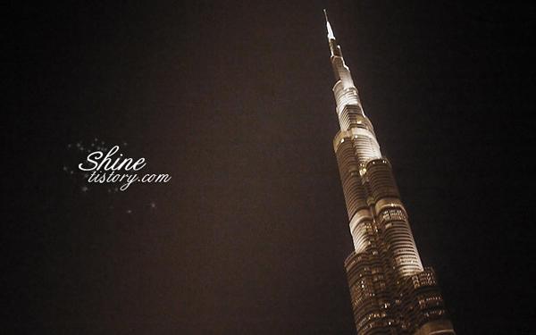 부르즈 칼리파와 두바이의 환상적 분수쇼!