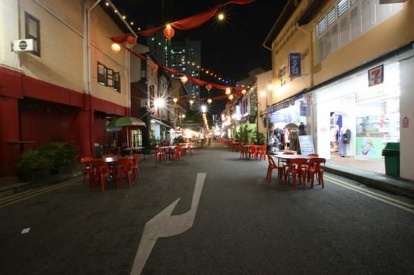 싱가포르 야시장, 차이나타운!