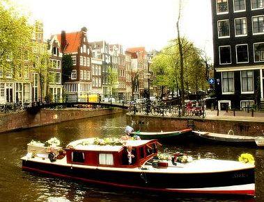 네덜란드 암스테르담, 운하 크루즈 체험