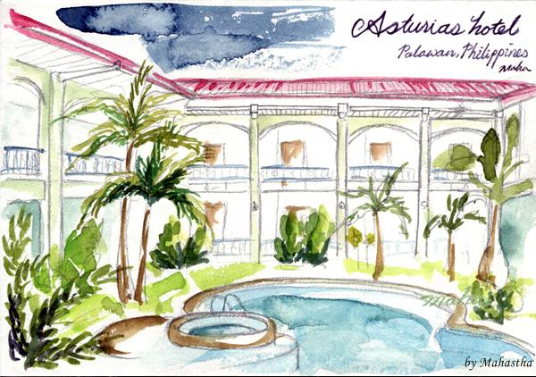 팔라완의 쉼터, 아스투리아스 호텔