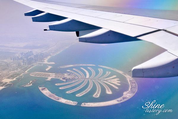 신기루 같은 두바이의 인공섬, 팜 아일랜드(The Palm Island)