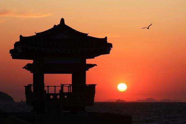 해 지는 풍경이 아름다운 곳, 서해 궁평항!