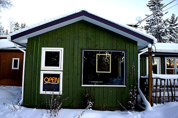 캐나다 화이트호스, 정겨운 동네카페!